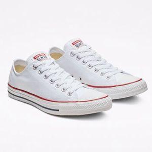 Converse Chuck Taylor White Low Top Sneaker Sz 7.5